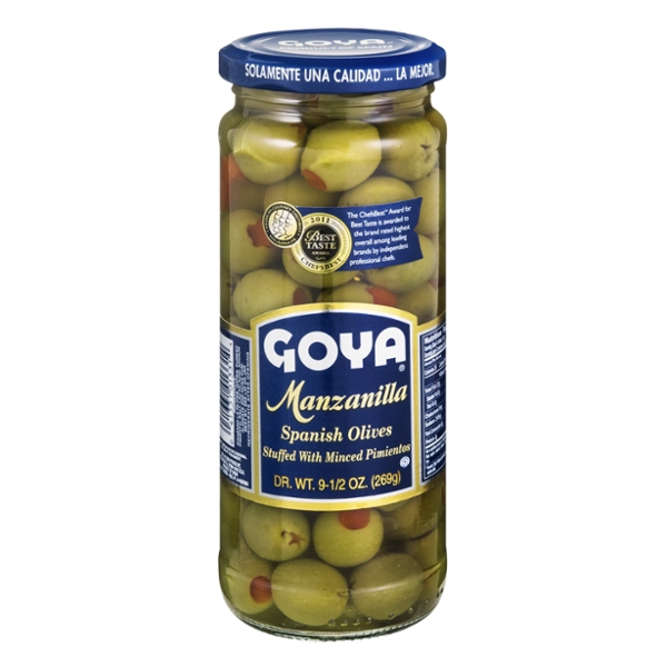 Goya Spanish Manzanilla Olives Stuffed