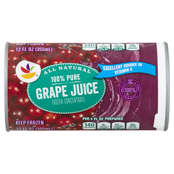 Giant 100% Grape Juice Concentrate Frozen