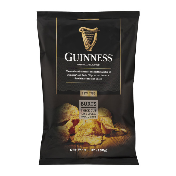 Guinness Burts Thick Cut Hand Cooked Potato Chips