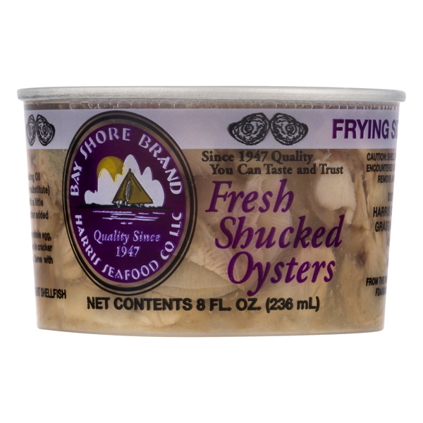 Oysters Shucked Fresh - 15 ct