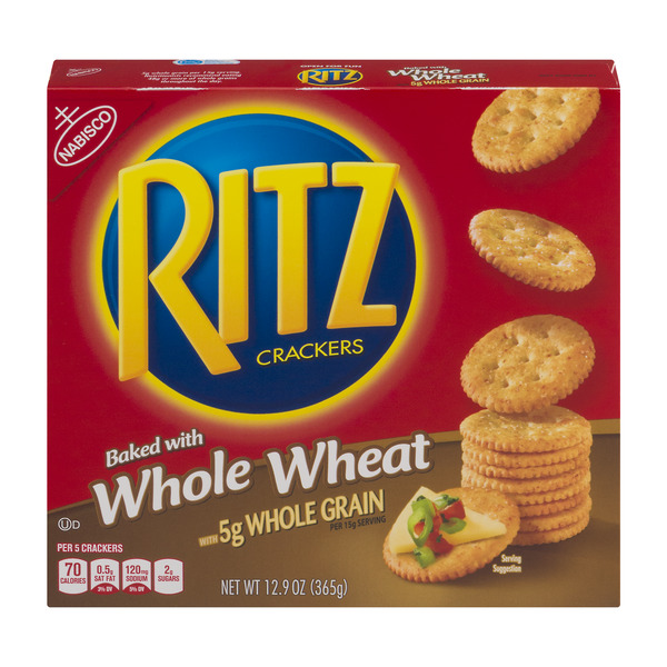 Nabisco Ritz Crackers Whole Wheat