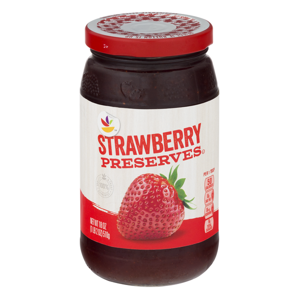 Giant Strawberry Preserves