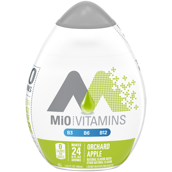 MiO Vitamins Liquid Water Enhancer Orchard Apple - 24 Servings