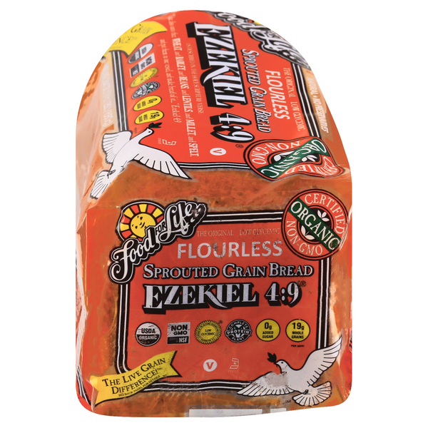Food For Life Ezekiel 4:9 Sprouted Whole Grain Bread Organic