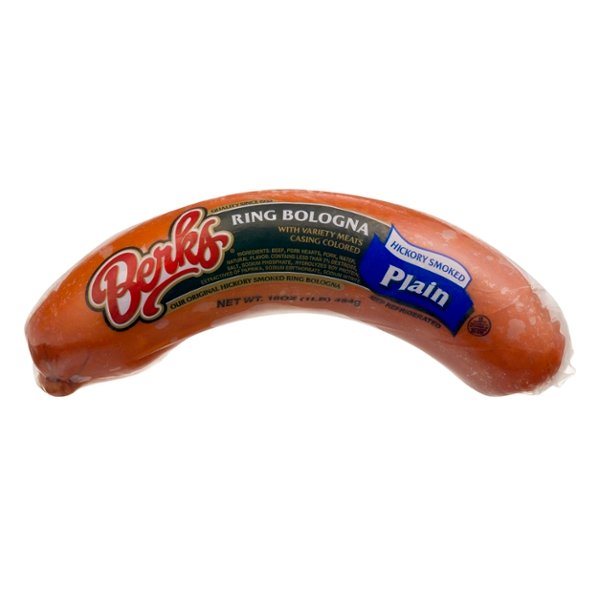 Berks Ring Bologna Hickory Smoked Plain