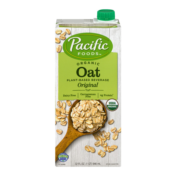Pacific Foods Oat Plant- Based Beverage Organic Dairy Free