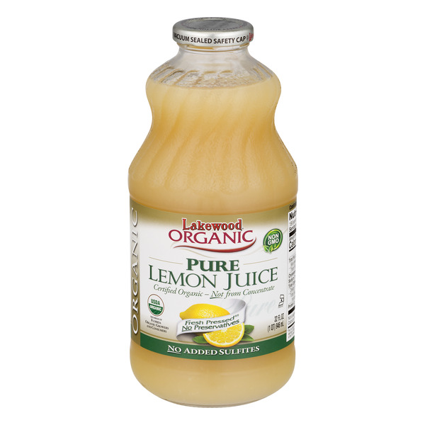 Lakewood Pure Lemon Juice Organic