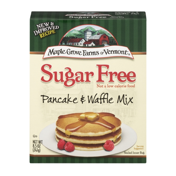 Maple Grove Farms Pancake & Waffle Mix Sugar Free All Natural