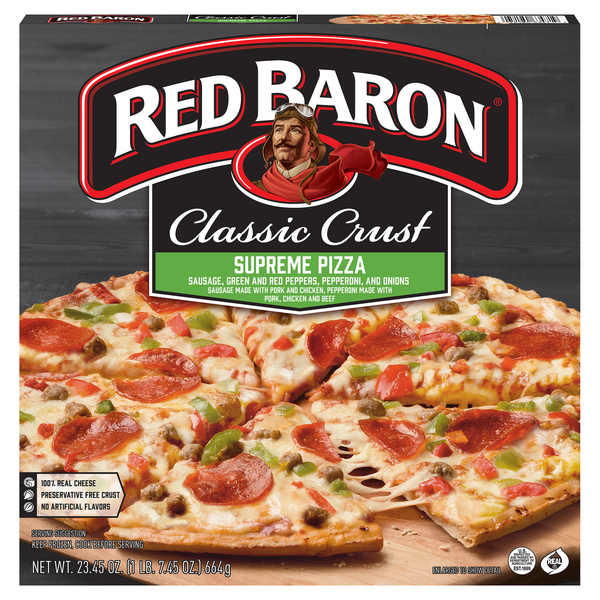 Red Baron Classic Crust Pizza Supreme
