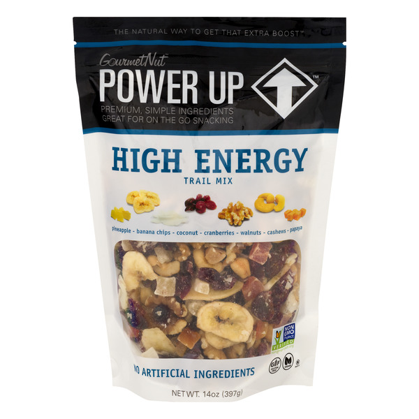 GourmetNut Power Up High Energy Trail Mix