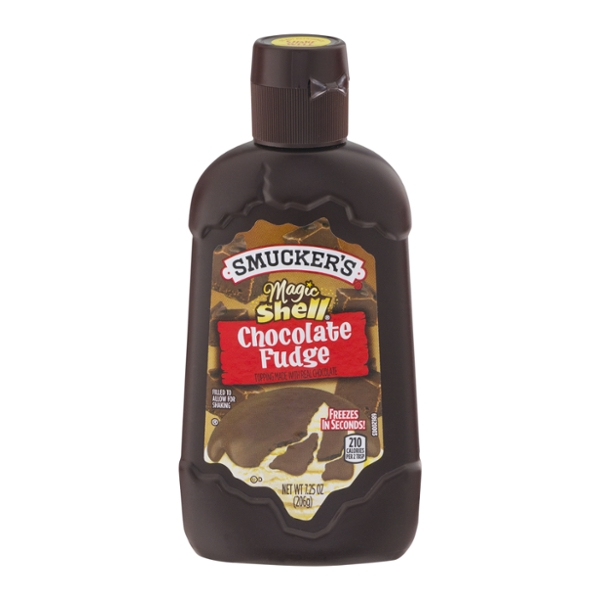 Smucker's Magic Shell Topping Chocolate Fudge
