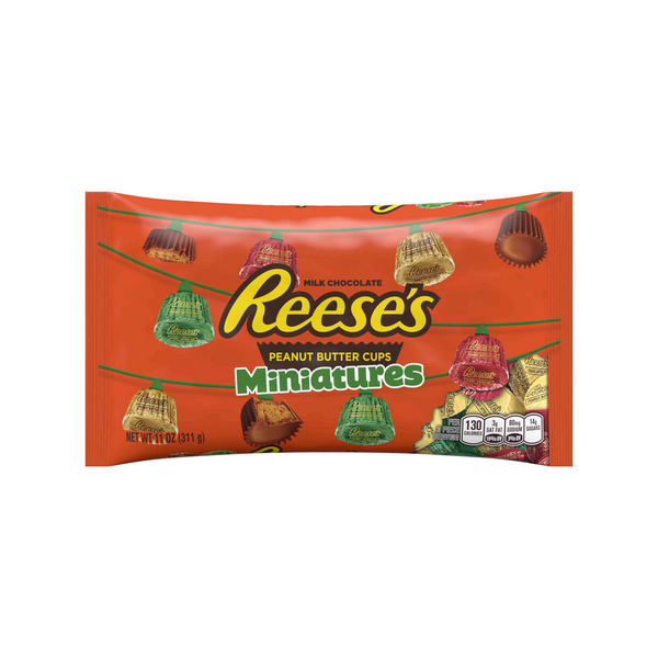 Reese's Peanut Butter Cups Holiday Miniatures