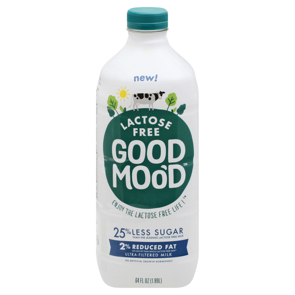 Good Mood Lactose Free 2% Reduced Fat Milk
