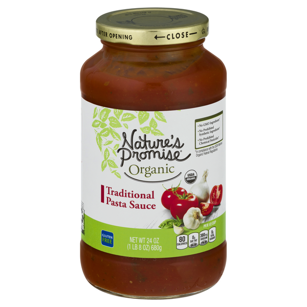 Nature's Promise Organic Pasta Sauce Traditional