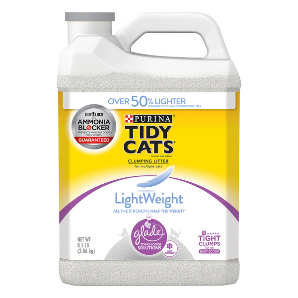 Purina Tidy Cats Lightweight Clumping Cat Litter with Glade