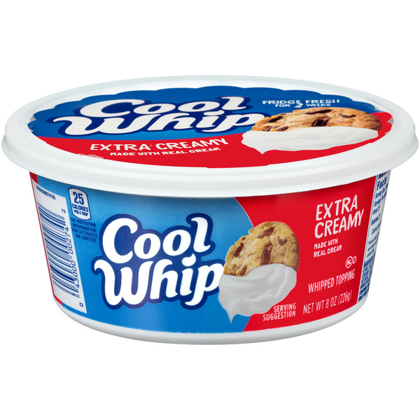 Cool Whip Whipped Topping Extra Creamy