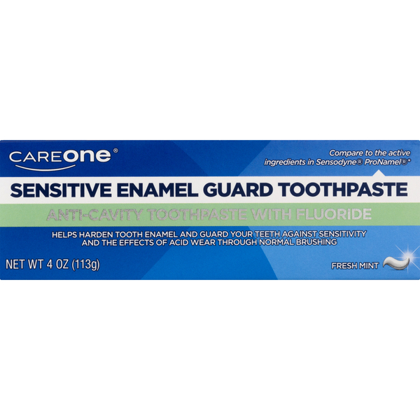CareOne Sensitive Toothpaste Enamel Guard Fresh Mint