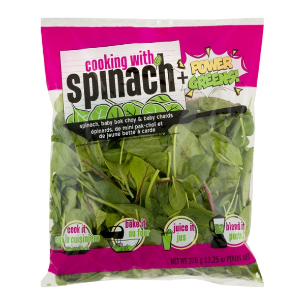 NewStar Cooking with Spinach Power Greens