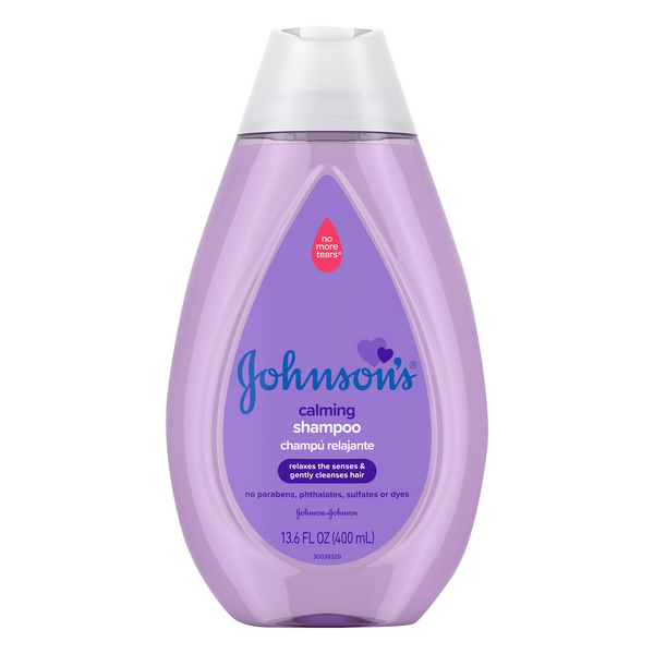 Johnson's Baby Calming Shampoo No Parabens