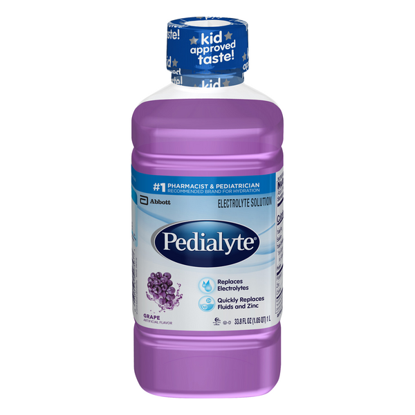 Pedialyte Grape Oral Electrolyte Solution