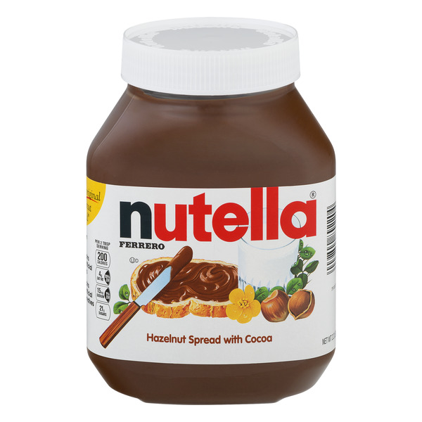 Nutella Spread Hazelnut with Skim Milk & Cocoa