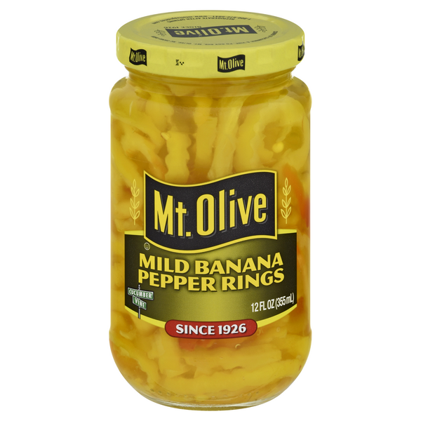 Mt. Olive Banana Pepper Rings Mild