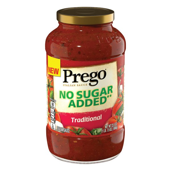 Prego Italian Sauce Traditional No Sugar Added