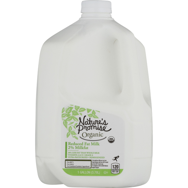Nature's Promise Organic 2% Reduced Fat Milk