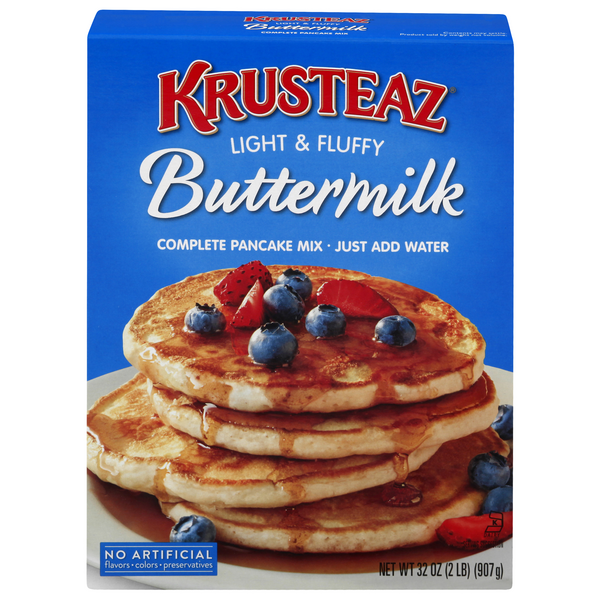 Krusteaz Pancake Mix Buttermilk Light & Fluffy