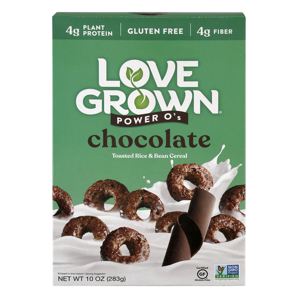 Love Grown Power O's Cereal Chocolate Gluten Free
