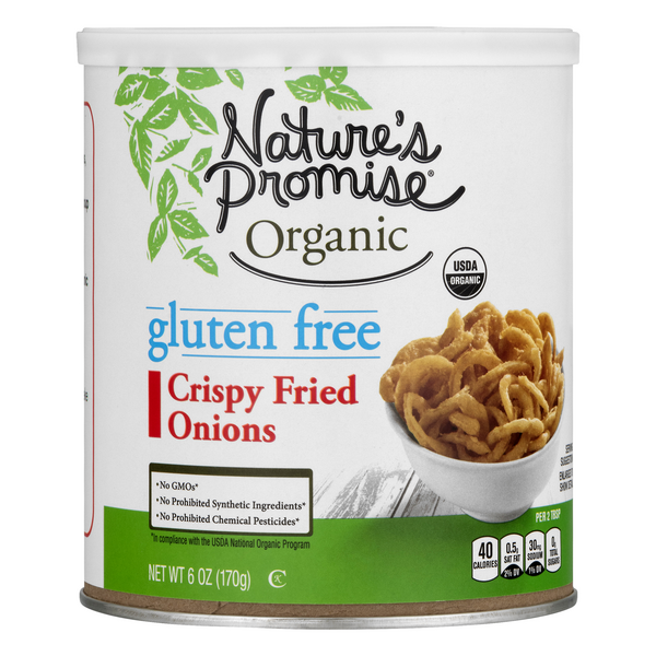 Nature's Promise Organic Crispy Fried Onions Gluten Free