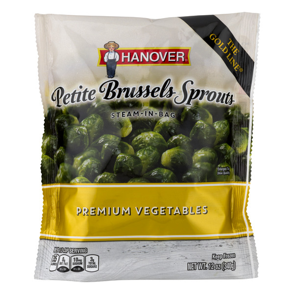 Hanover Premium Vegetables Petite Brussels Sprouts Steam-In-Bag