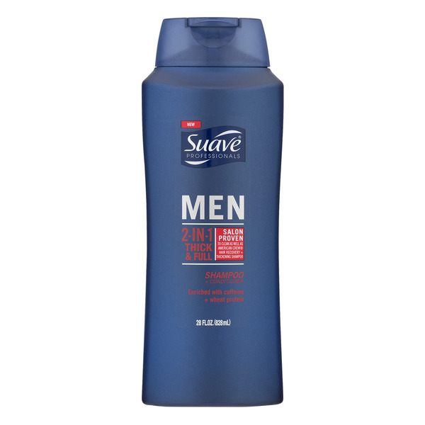 Suave Professionals Men 2-in-1 Thick & Full Shampoo & Conditioner