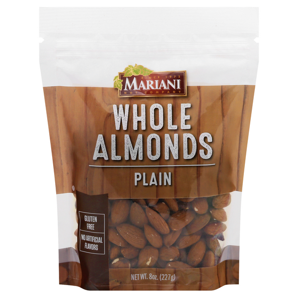 Mariani California Almonds Whole Almonds Gluten Free