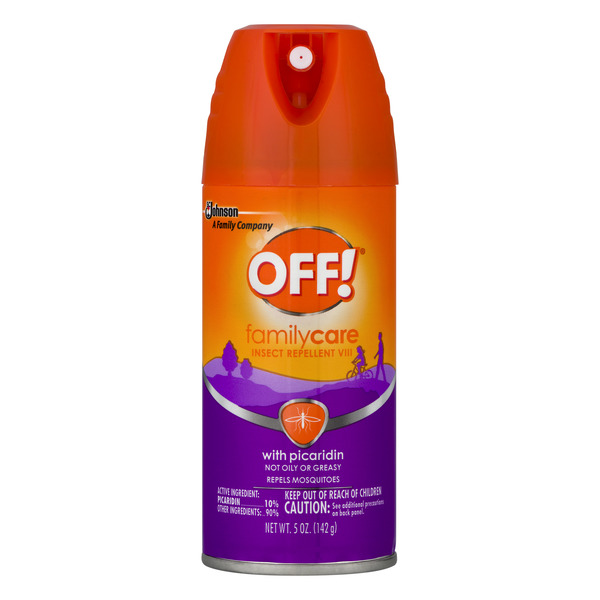OFF! Family Care Insect Repellent with Picaridin