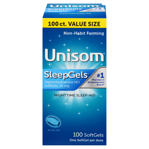 Unisom SleepGels 50mg Softgels