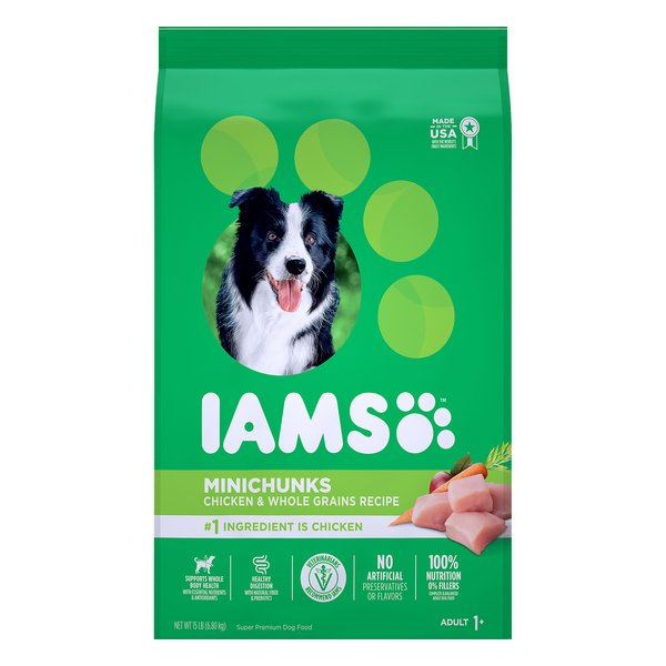 IAMS ProActive Health Adult Dry Dog Food Mini Chunks