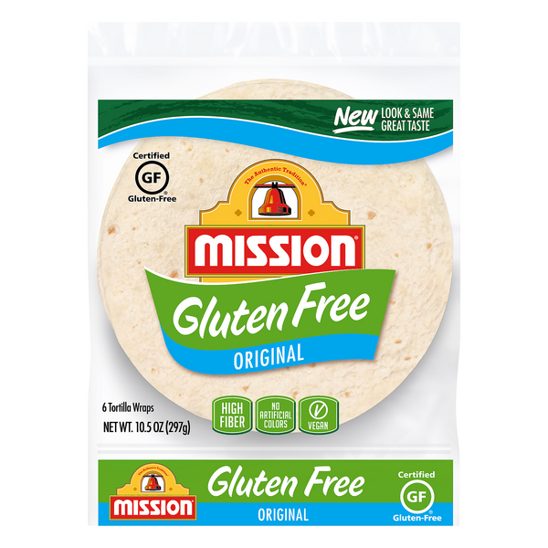 Mission Tortilla Soft Taco Original Gluten Free - 6 ct