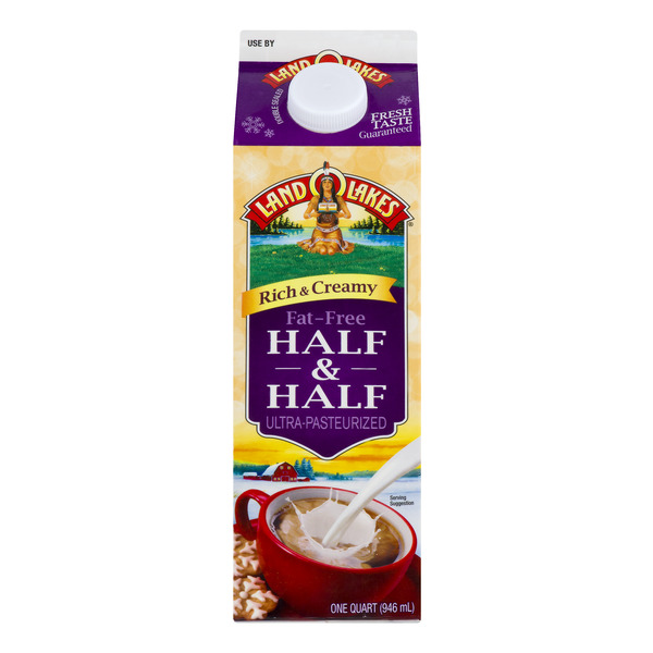Land O Lakes Half & Half Fat Free Ultra Pasteurized