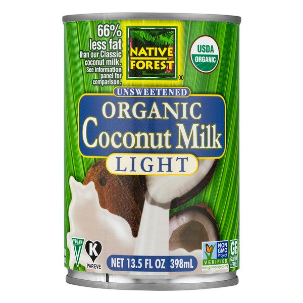 Native Forest Coconut Milk Light Unsweetened Organic