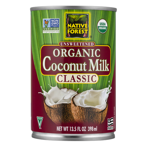 Native Forest Coconut Milk Classic Unsweetened Organic