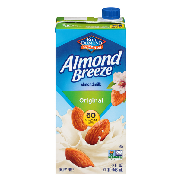 Almond Breeze Original Almond Milk Non-Refrigerated