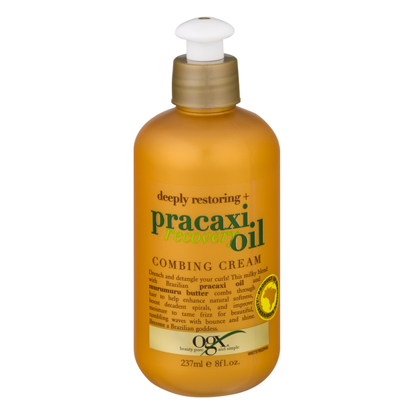 OGX Pracaxi Recovery Oil Deeply Restoring + Combing Cream