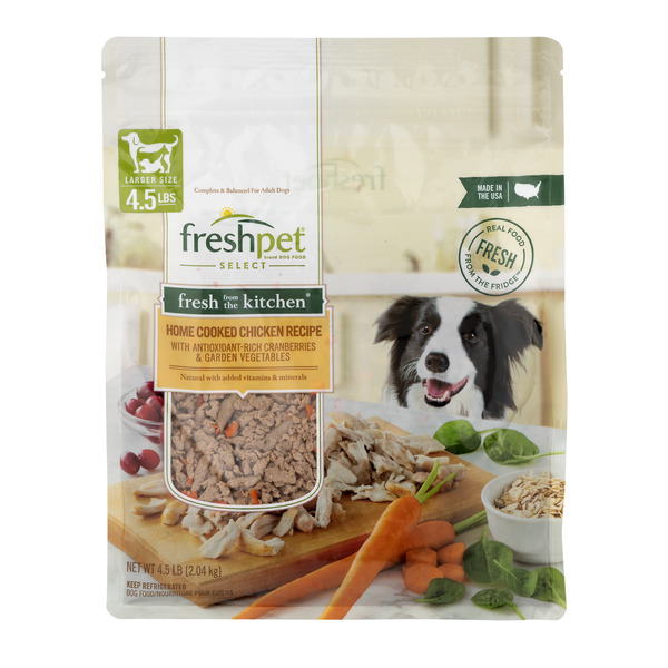 Freshpet Refrigerated Dog Food Home Cooked Chicken Recipe