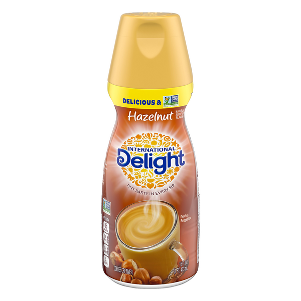 International Delight Coffee Creamer Hazelnut Refrigerated