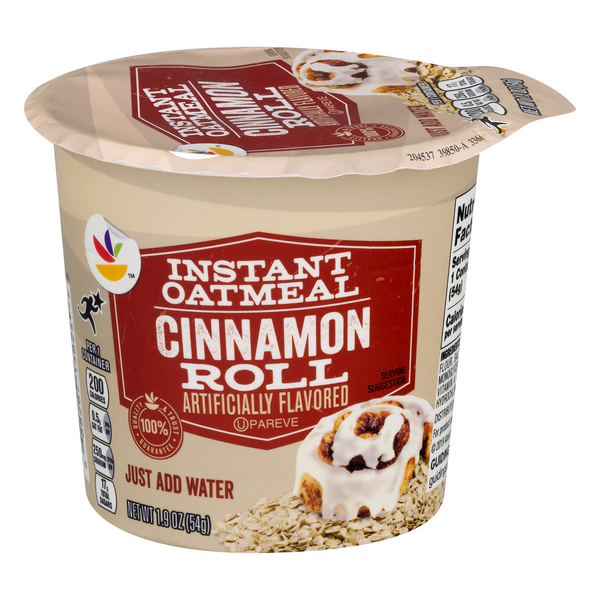 MARTIN'S Instant Oatmeal Cup Cinnamon Roll