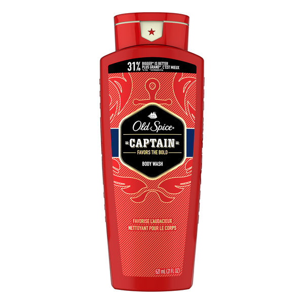 Old Spice Red Collection Captain Body Wash