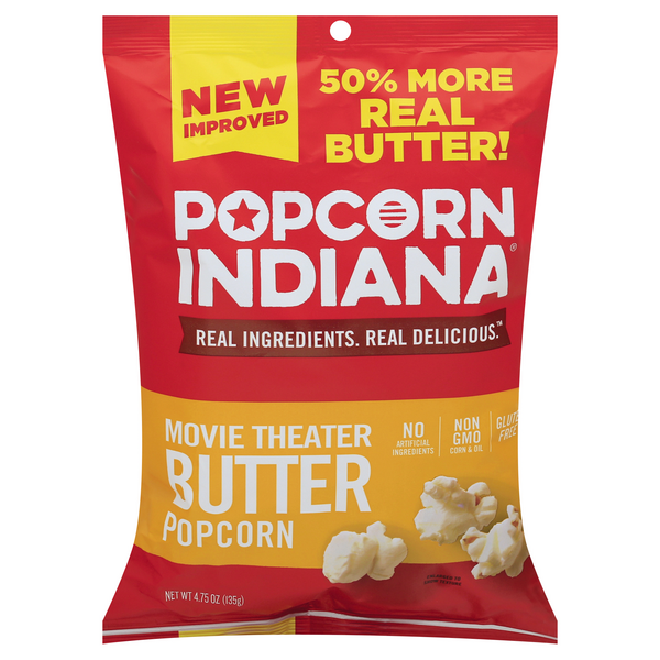 Popcorn, Indiana Popcorn Movie Theater All Natural