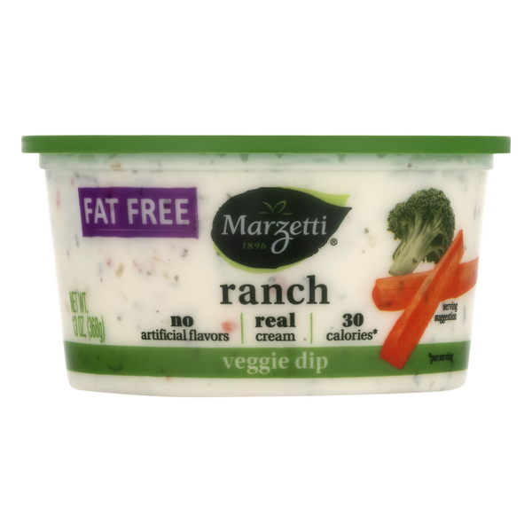 Marzetti Veggie Dip Ranch Fat Free
