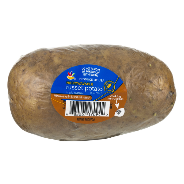 Stop & Shop Russet Potato Microwavable
